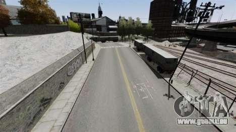 La piste dans le style de Gymkhana pour GTA 4 quatrième écran