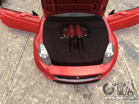 Ferrari California 2009 pour GTA 4 est un droit