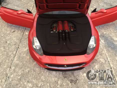 Ferrari California 2009 für GTA 4 rechte Ansicht