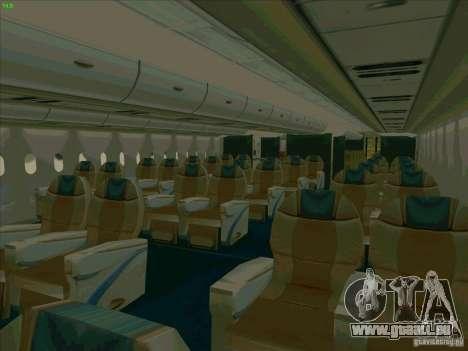 Airbus A380-800 für GTA San Andreas Räder