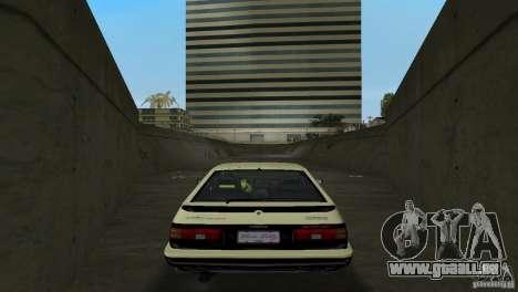 Toyota Trueno Sprinter pour une vue GTA Vice City de la droite