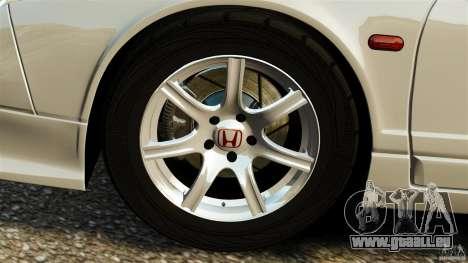 Honda NSX-R GT pour GTA 4 est un côté