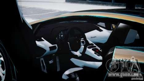 Lamborghini Aventador LP700-4 pour GTA 4 est un droit