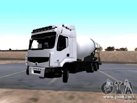 Renault Premium Mixer für GTA San Andreas
