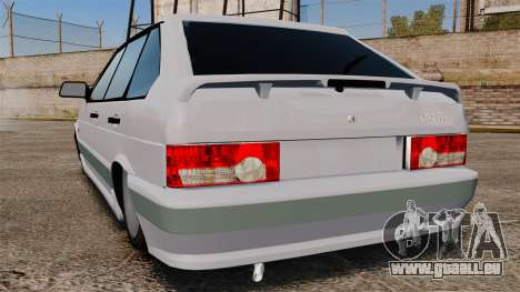 VAZ-2114 für GTA 4 hinten links Ansicht