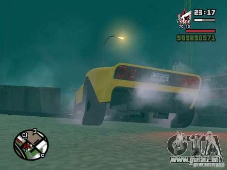 La balle de la GTA TBoGT FIV pour GTA San Andreas vue intérieure
