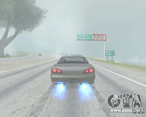Le flou lorsque l'utilisation de Nitro pour GTA San Andreas troisième écran