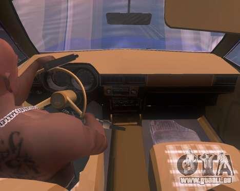 Ford Pinto 1973 Final pour GTA San Andreas sur la vue arrière gauche
