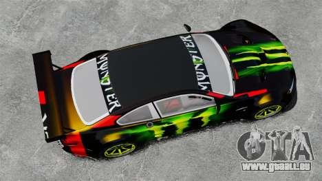 BMW M3 (E90) 2008 Monster Energy v1.2 pour GTA 4 est un droit