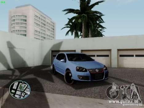 Volkswagen Golf V R32 Black edition für GTA San Andreas