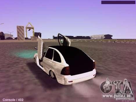 VAZ-2172 pour GTA San Andreas laissé vue