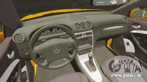 Mercedes-Benz CLK 55 AMG für GTA 4 Rückansicht