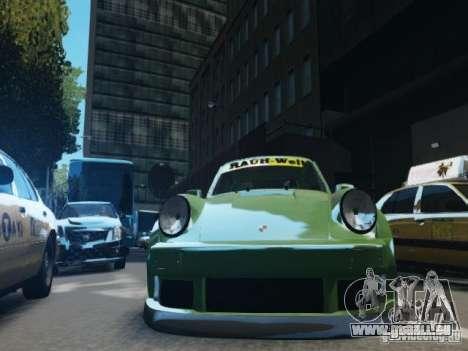 Porsche 911 Turbo RWB Pandora One Beta pour GTA 4 est un côté