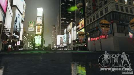 Saites ENBSeries Low v4.0 pour GTA 4 sixième écran
