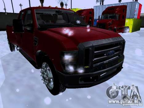 Ford F-350 Super Duty für GTA San Andreas linke Ansicht
