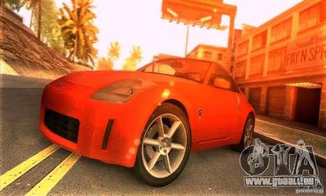 Nissan 350Z Tunable pour GTA San Andreas