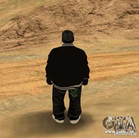 Peau Ryder pour GTA San Andreas deuxième écran