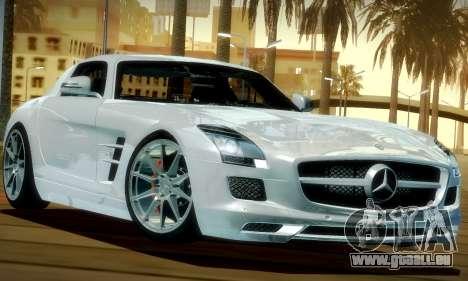 Mercedes-Benz SLS AMG 2010 für GTA San Andreas linke Ansicht