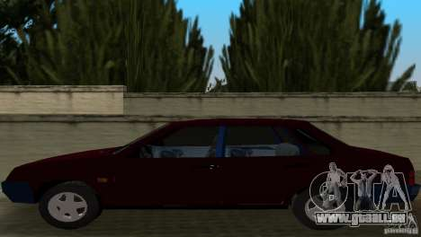 VAZ 21099 pour GTA Vice City vue arrière