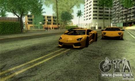 SA_gline v2.0 pour GTA San Andreas quatrième écran