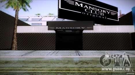 Mansory Club Transfender & PaynSpray für GTA San Andreas zweiten Screenshot