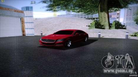Mercedes Benz CLS 350 2011 pour GTA San Andreas