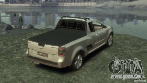 Chevrolet Montana Sport 2011 für GTA 4 hinten links Ansicht