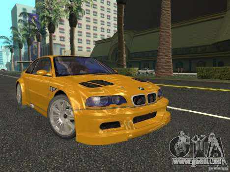 BMW M3 GTR de NFS Most Wanted pour GTA San Andreas