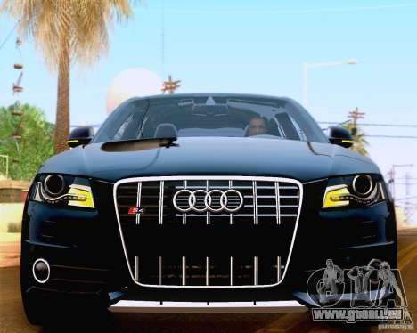 Audi S4 2010 für GTA San Andreas Seitenansicht