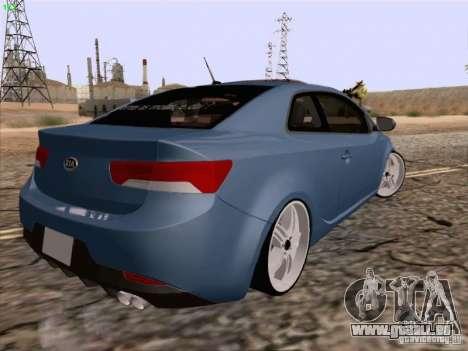 Kia Cerato Coupe 2011 für GTA San Andreas linke Ansicht
