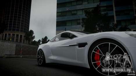 Aston Martin Vanquish 2013 pour GTA 4 est un droit