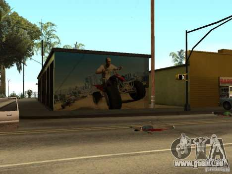 Poster de GTA 5 pour GTA San Andreas troisième écran