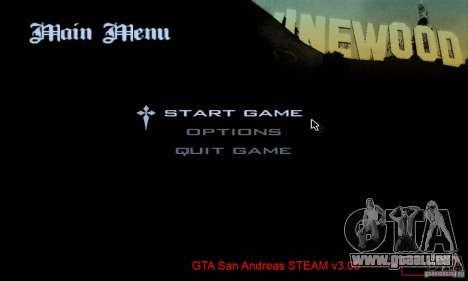 Patch pour GTA San Andres Steam V 3.00 pour GTA San Andreas