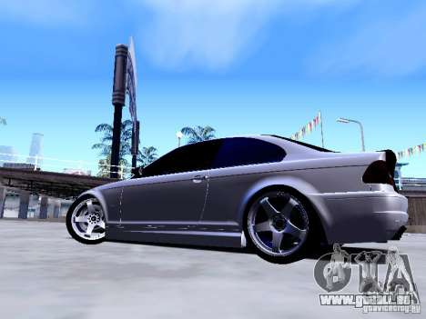 BMW 318i E46 Drift Style pour GTA San Andreas vue arrière