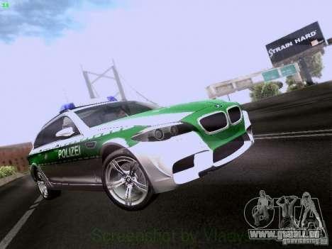 BMW M5 Touring Polizei pour GTA San Andreas
