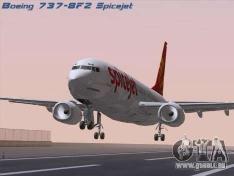 Boeing 737-8F2 Spicejet pour GTA San Andreas