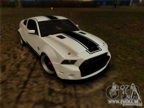 Ford Shelby GT500 SuperSnake NFS The Run Edition für GTA San Andreas