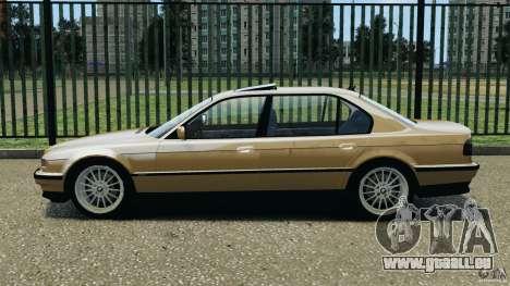 BMW 750iL E38 1998 für GTA 4 linke Ansicht