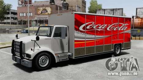 Die neue Werbung für Benson LKW für GTA 4 fünften Screenshot