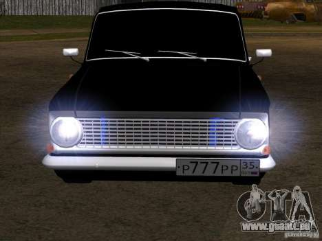 Moskvitch 408 Extra Style für GTA San Andreas