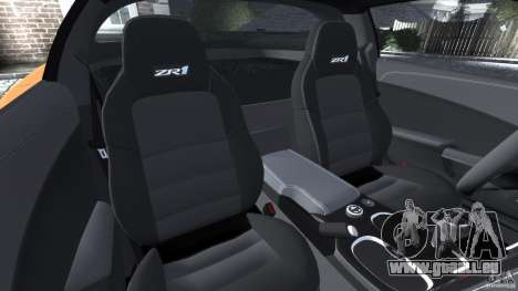 Chevrolet Corvette ZR1 für GTA 4 Innen
