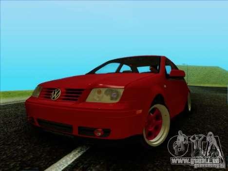 Volkswagen Bora HellaFlush pour GTA San Andreas