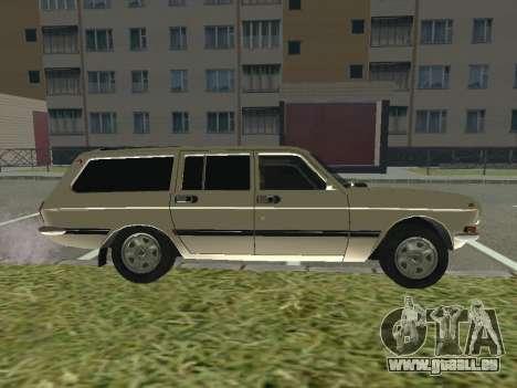 Volga GAZ-24 12 pour GTA San Andreas sur la vue arrière gauche