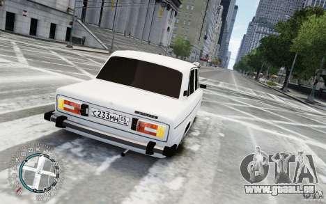 VAZ 2106 für GTA 4 linke Ansicht