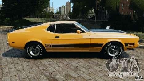 Ford Mustang Mach 1 1973 v2 pour GTA 4 est une gauche