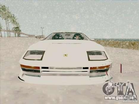 Ferrari Testarossa Custom pour GTA San Andreas vue de droite