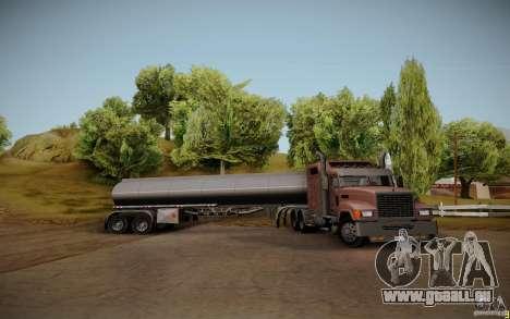 Caravane de Mack Pinnacle Rawhide Edition pour GTA San Andreas vue arrière