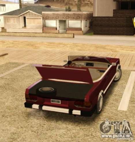 Feltzer HD v2 für GTA San Andreas rechten Ansicht