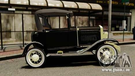 Ford Model T 1926 für GTA 4 linke Ansicht