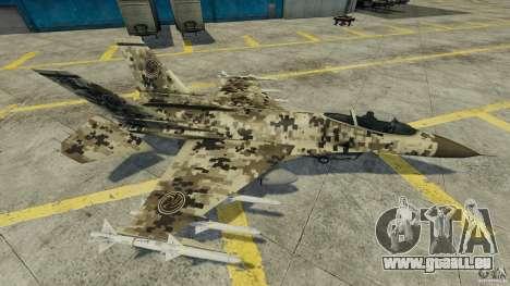 Fighterjet für GTA 4 Innenansicht